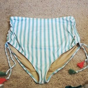 Size 26 high waisted swim by Cacique bottoms